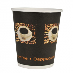 Kaffeebecher Coffee to go Motiv Coffee Beans 24 cl = 200...