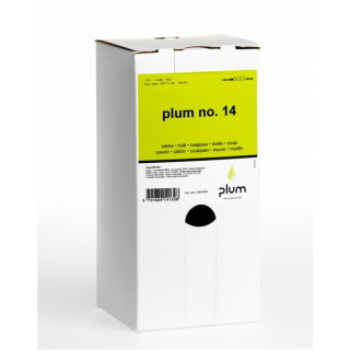Plum No.14 Seifencreme bag in bag box 8x1400 ml/Karton