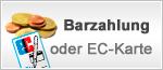 Barzahlung / EC-Karte bei Abholung