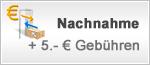 Nachnahme + 5 € Gebühren